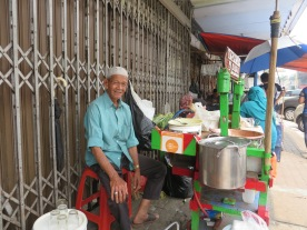 My future husband. Just kidding. But I am in love with his streetfood.
