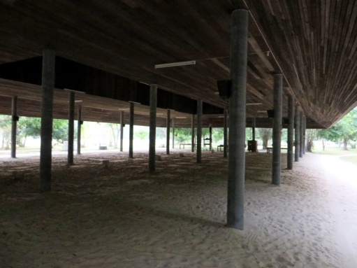 The main meditation hall